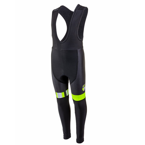 TEAM HUP Kids Winter Cycling Thermal Bib Tights