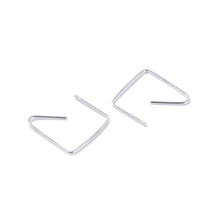 Pendientes de plata - QUADRATE EARRINGS
