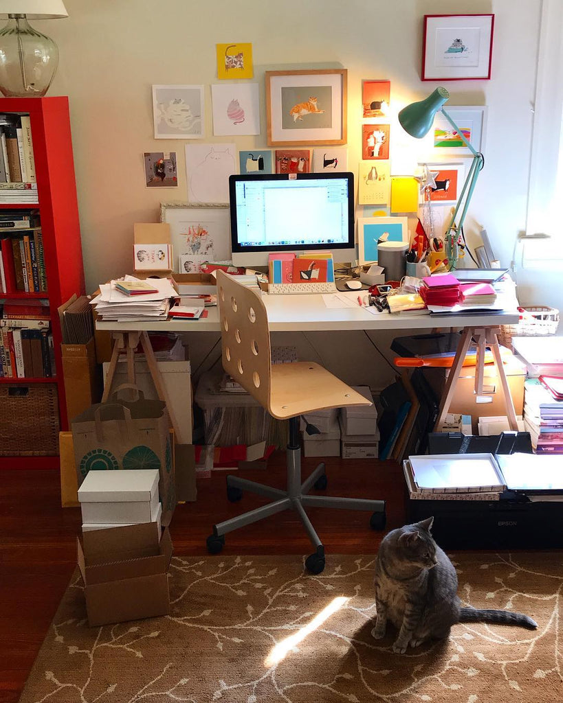 Jamie Shelman's workplace