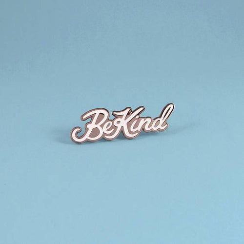 Be Kind Pin, Gunmetal - Pin by Ghost Goods on Katt.