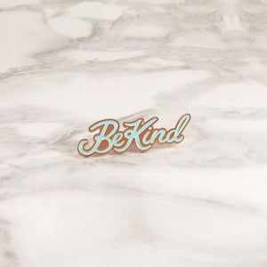 Be Kind Pin, Copper by Ghost Goods on Katt.
