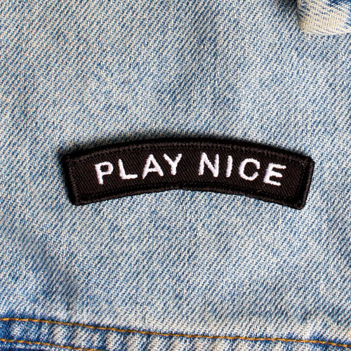 Play Nice Patch by WKNDRS on Katt.