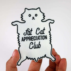 Fat Cat Appreciation Club Patch by Studiocult.co on Katt.
