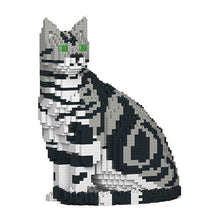 "American Shorthair Cat Sculpture, Sitting (27.1 x 22.5 cm / 10.7"" x 8.9"") by JEKCA on Katt."