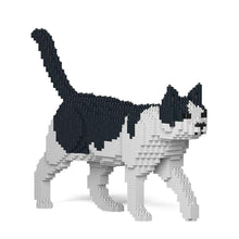Black & White Cat Sculpture by JEKCA on Katt.