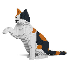Calico Cat Sculpture by JEKCA on Katt.