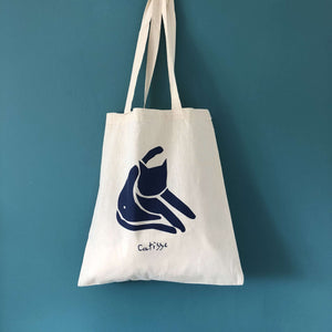 Catisse Cat Tote Bag by Niaski on Katt.