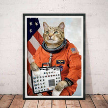 Cats On Synthesizers In Space Fuzz Aldrin Print by Cats On Synthesizers In Space on Katt.