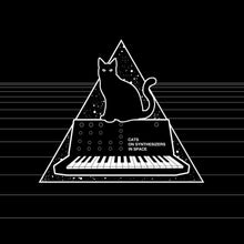 Cats On Synthesizers In Space T-Shirt Black by Cats On Synthesizers In Space on Katt.