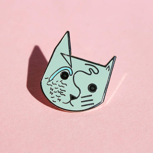Wassily Catdinsky Enamel Pin - Pin by Niaski on Katt.