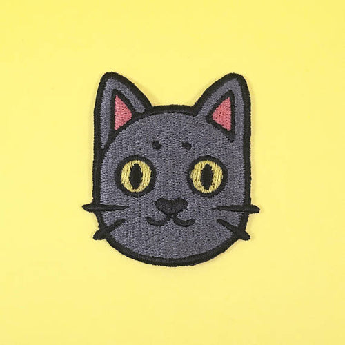 Boo Cat Patch by Ghost Goods on Katt.