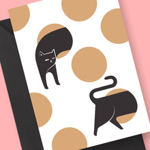 Hide And Seek Cat Card by Frolik on Katt.