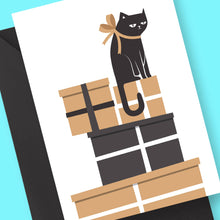 Gifted Cat Card by Frolik on Katt.