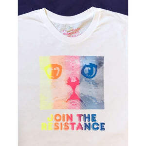 Join The Resistance T-Shirt by HOMOCATS on Katt.