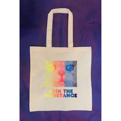 Join The Resistance Tote Bag by HOMOCATS on Katt.