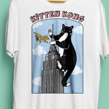 Kitten Kong Unisex T-Shirt by Kerris Ganeson on Katt.