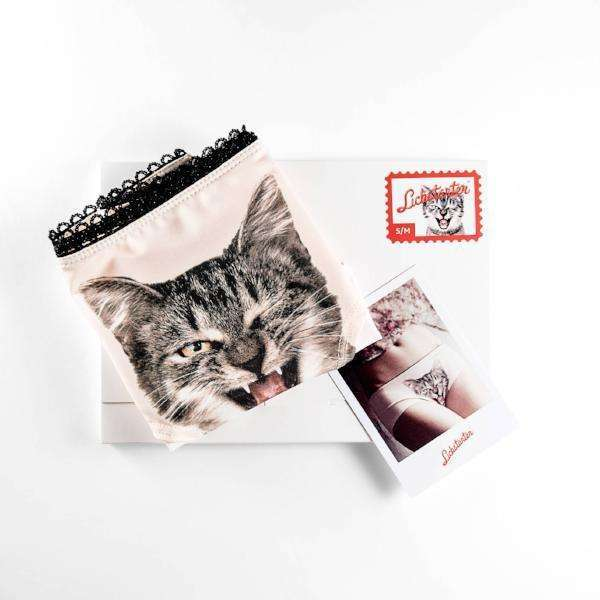 45d91aed7a18 Looking For Some Love Cat Panties by Lickstarter on Katt.