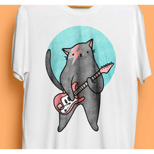 Moggy Stardust Kids T-Shirt by Kerris Ganeson on Katt.