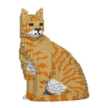 Orange Tabby Cat Sculpture by JEKCA on Katt.