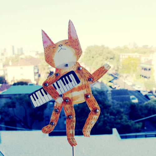 Paper Doll Keyboard Cat Set by Surfing Sloth on Katt.
