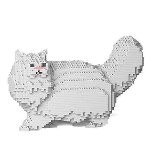 Persian Cat Sculpture by JEKCA on Katt.