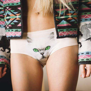 Pure Purrfection Cat Panties - Panties by Lickstarter on Katt.