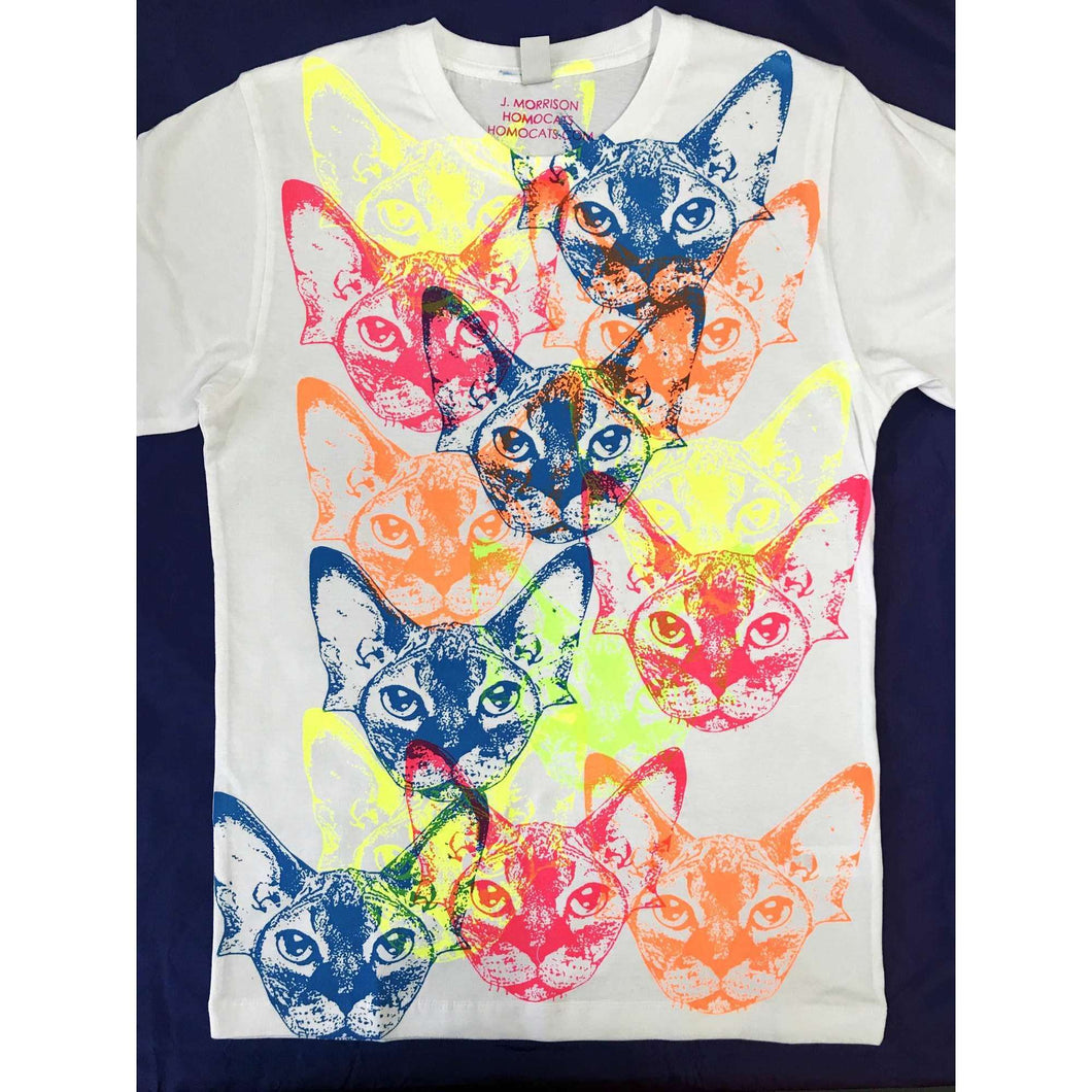 Rainbow Cats T-Shirt by HOMOCATS on Katt.