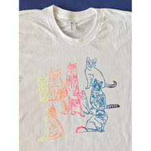 Rainbow Roll Cats T-Shirt by HOMOCATS on Katt.