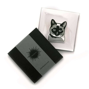 Siamese Cat Brooch by Fibularia on Katt.