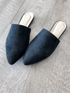 Black Mules - FINAL SALE