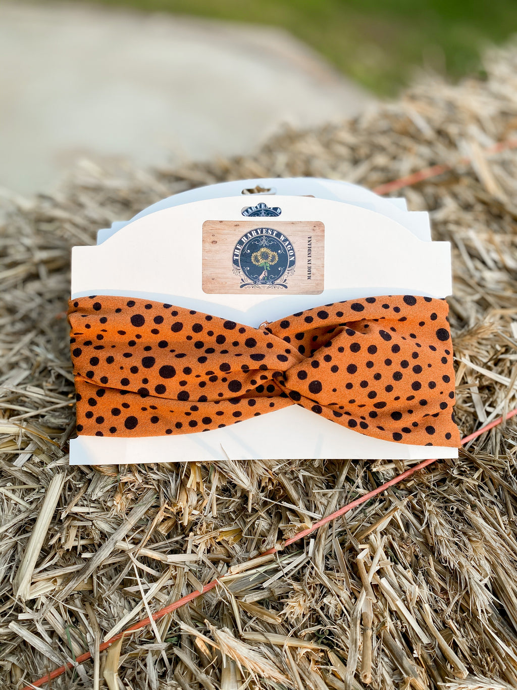 Rust Cheetah Headband