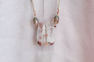 Auden - Clear Crystal Necklace