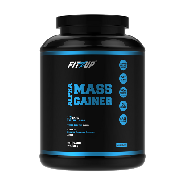 Alpha Mass Gainer (5:1 Carb : Protein Ratio, 2kg/4.4lbs)