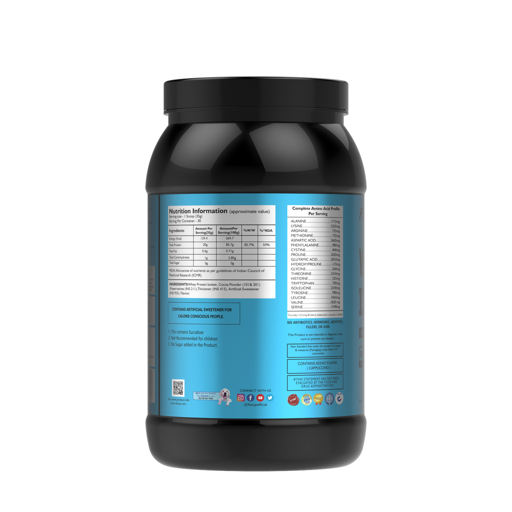 Whey Isolate (New Zealand Whey, 30g Protein, 2 3lbs)