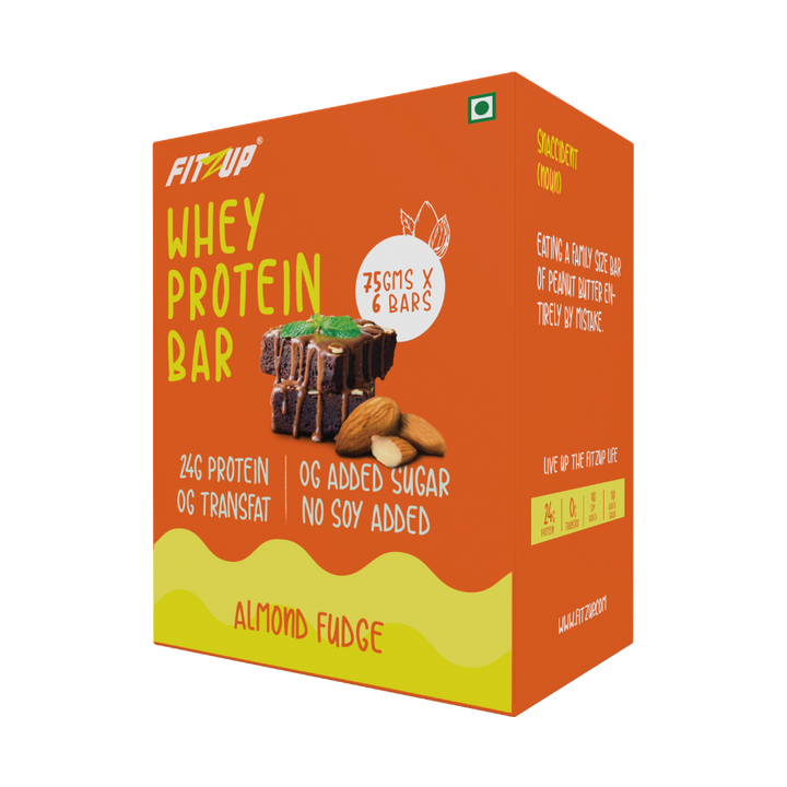 Whey Almond Fudge Protein Bar