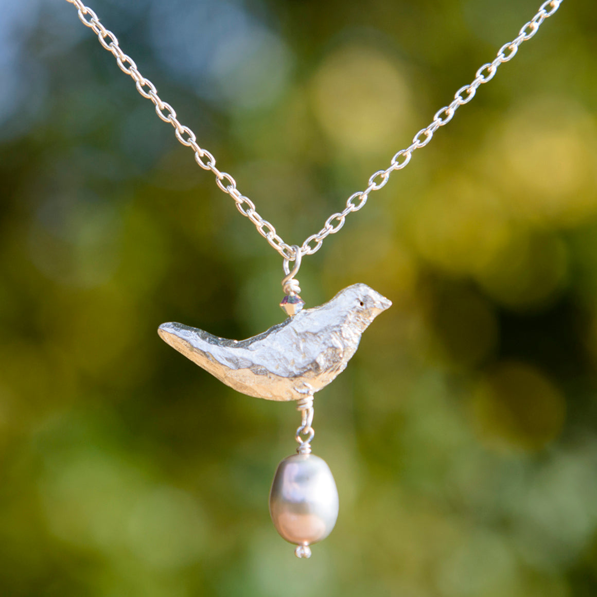 Medium Bird Necklace