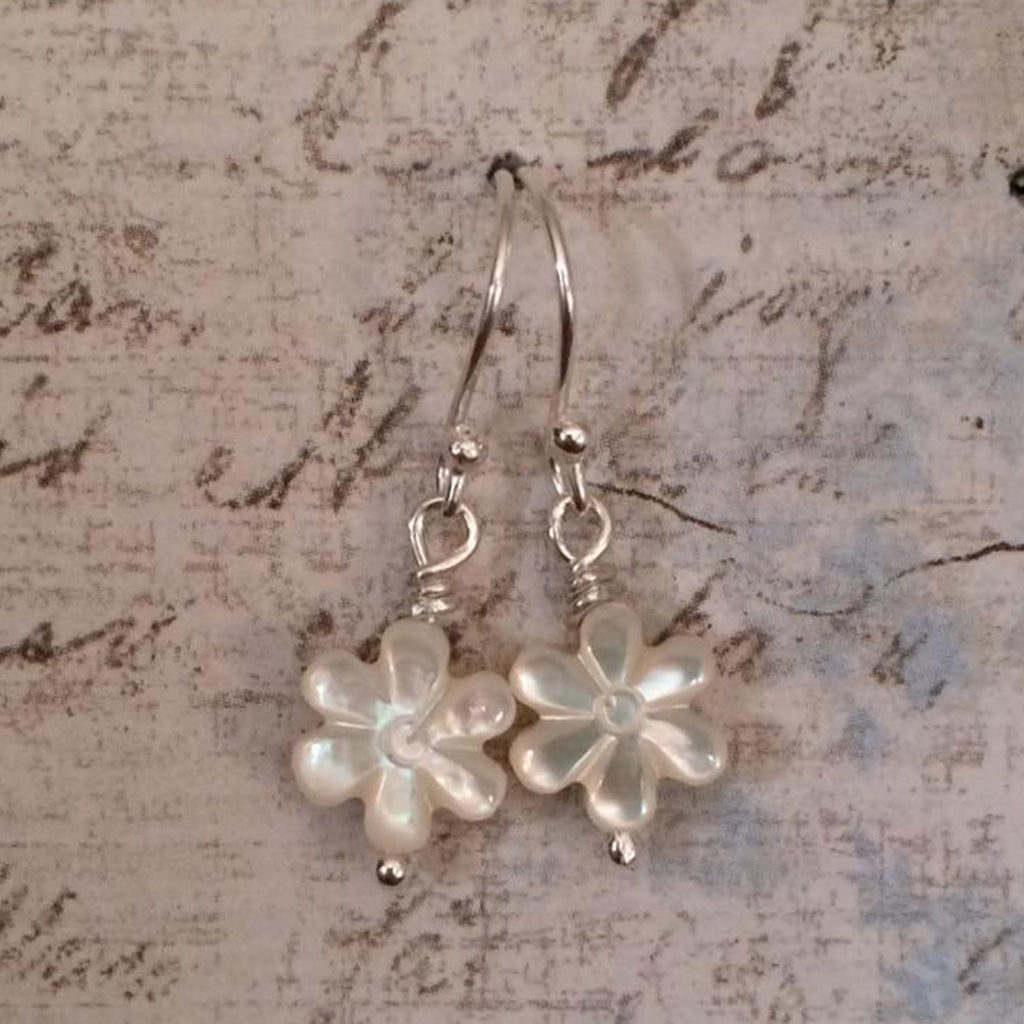 Oyster Mother of Pearl Earrings