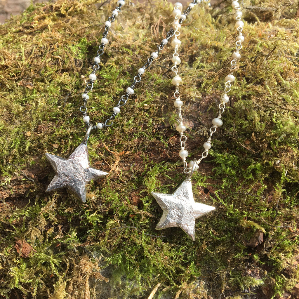 Small Star Necklaces