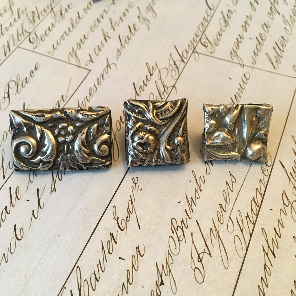 Small Vintage Silver Brooch