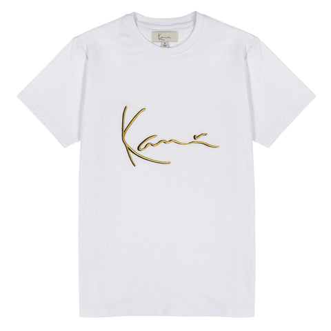 Karl Kani Iconic Signature Tee - White