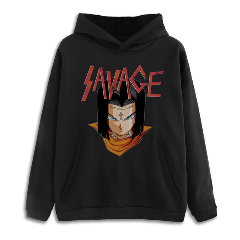 Entree Lifestyle 17 Savage Drop Hoodie - Black