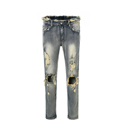 DSRCV DESTROYED DENIM - BLUE
