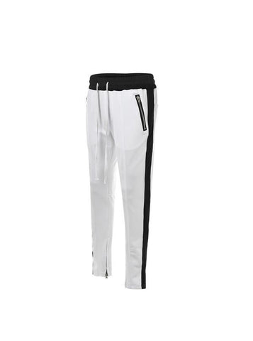 DSRCV Retro Sports Pants - White/Black
