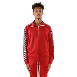 EPTM USA Racing Track Jacket - Red