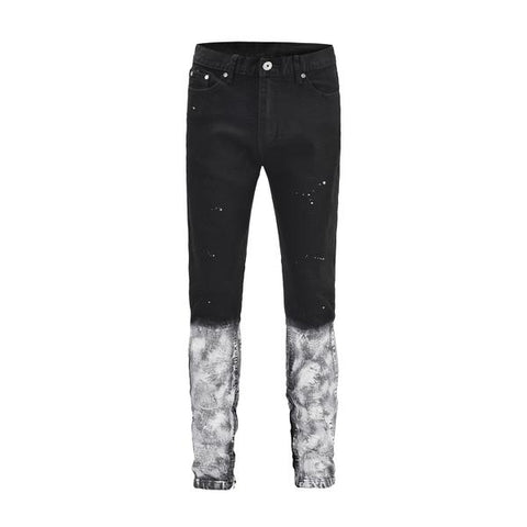 DSRCV SPLATTER DENIM - BLACK