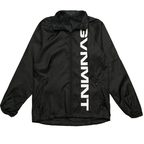 GVNMNT CO BIG LOGO TRACK JACKET - BLACK