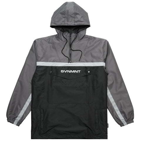 GVNMNT CO 3M REFLECTIVE TECHSUIT JACKET - BLACK