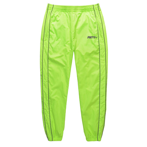 FNTY Reflecting Track Pants - Lime
