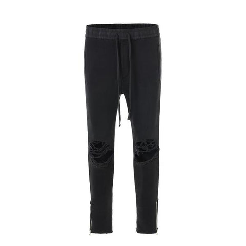 DSRCV DESTROYED TRACK PANTS - BLACK