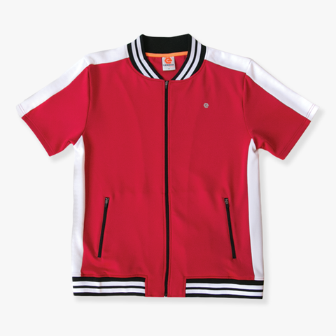 Elbow Grease Moto Racer Track Top - Red